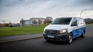 Alle varebilene fra Mercedes blir elektriske
