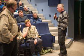 KJENNER SEG OVERKØYRT: Grunneigar Oddmund Einemo var den som hadde invitert miljøkrigaren til bygda.
