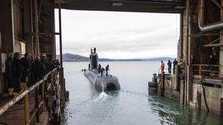 Her sjøsettes en ubåt i Ula-klassen for siste gang