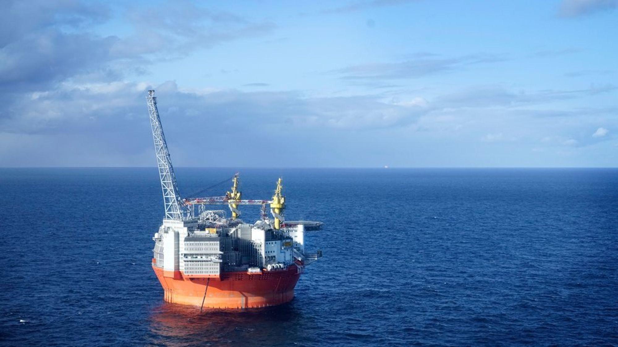 Vår Energi blir det fjerde største selskapet på norsk kontinentalsokkel. llustrasjonsbilde fra Goliat-plattformen, det første oljeproduserende prosjektet i Barentshavet, hvor Eni er operatør.