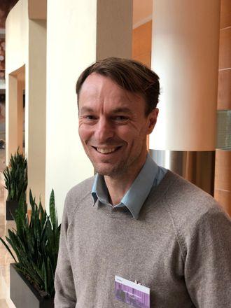 Lars Joakim Nilsson, sjef for «Advanced Analytics & Big Data» i Inmeta.