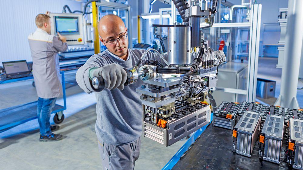 Langen-anlegget skal være Europas største elbilbatterifabrikk.