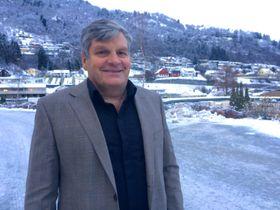 HAR TRUA: Hotellsjef Jørgen Christian Lindstrøm har tru på at satsinga skal løfta hotellet til nye høgder.