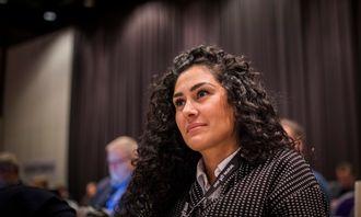 Nasim Karim sitter i PFs likestillings- og mangfoldsutvalgt, og har jobbet og hatt kontakt med flere kvinner som har opplevd uønsket oppmerksomhet.