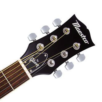 Gitarhodene er utstyrt med logoen «Maestro by Gibson». Foto: Gibson