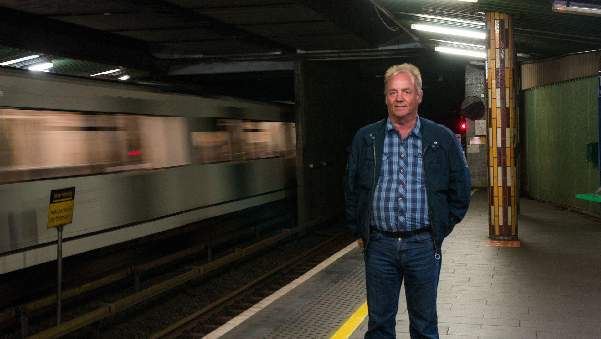 ANNONSE: I 25 år har Per-Arne vært med på å definere Oslos kollektivtransport