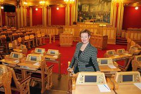 KJENT OG KJÆR: Sylvi Graham har de siste årene vært stortingspolitiker for Akershus og Høyre.
