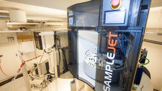 NMR-maskiner ved NNP-senteret i Bergen.