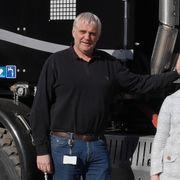 BEKLAGER: Driftleder i Vei og traifkk, Kay Pedersen, har sørget for at hullene er tettet, og han beklager at det tok lang tid.