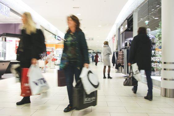 SHOPPING: Kolbotn torg er vårt lokale kjøpesenter.