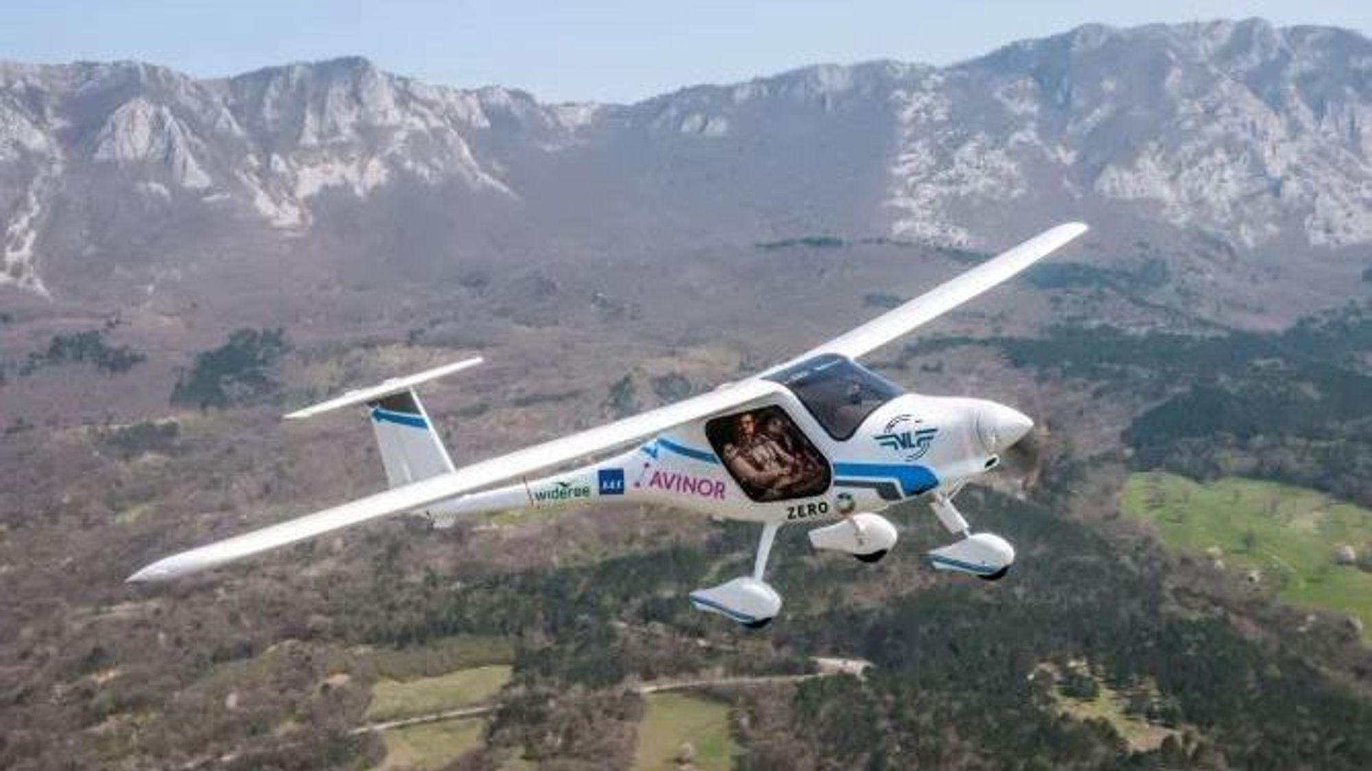 Avinor og Norsk Luftsportforbund har gått sammen om å kjøpe et elektrisk fly av denne typen.