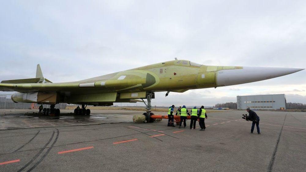 Utrullingsseremoni for det første Tu-160M2 16. november.