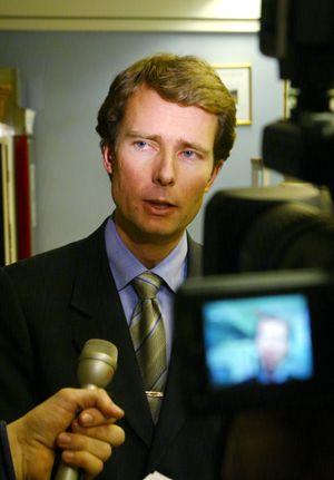 Den gang da: I Lillehammer i 2003, da Per Axel Koch overtok som styreleder i Kanal 4.