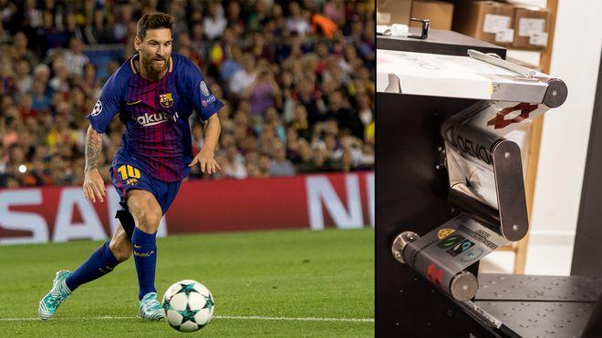 Messi merkes av en av Norges smarteste bedrifter