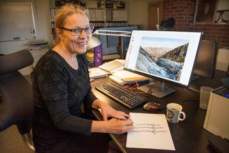 Gode hjelpemidler: Eva Widenoja bruker både pc og blyant i arbeidet som industridesigner, og ideene er mange.