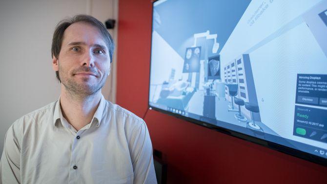Frank Lindseth ved Telenor-NTNU AI-Lab.