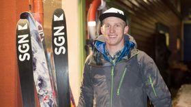 GODE SOM NYE: Erling Grøstad og SGN Skis sørga for gratis prepping av ski på den grøne fredagen.