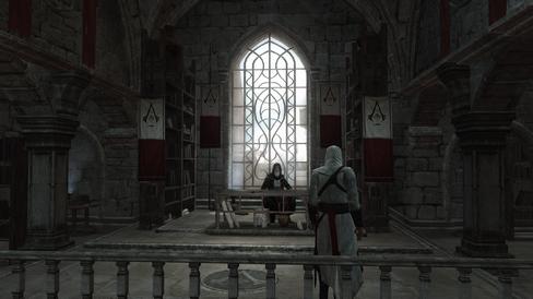 Altair og Al Mualim.