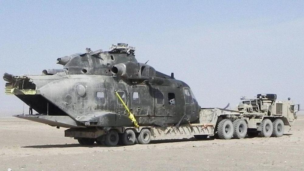Det danske EH101-helikopteret, som havarerte i Afghanistan for tre år siden, skal etter planen bli ferdig gjenoppbygget og reparert i løpet av 2018.