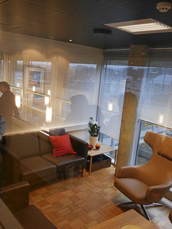 SLIK SER DET UT: Det nye støttesenteret ligger sentralt i politihuset i Ski.