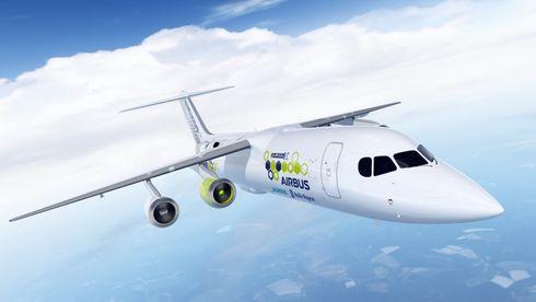Airbus bygger nytt hybridelektrisk fly