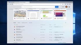 Ny fane-siden gir deg direkte tilgang til både apper, dokumenter og annet innhold – i det samme vinduet.