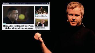 Pål Nisja-Wilhelmsen kritiserer Aftenpostens fotballevent - og redaksjonelle dekning av det.