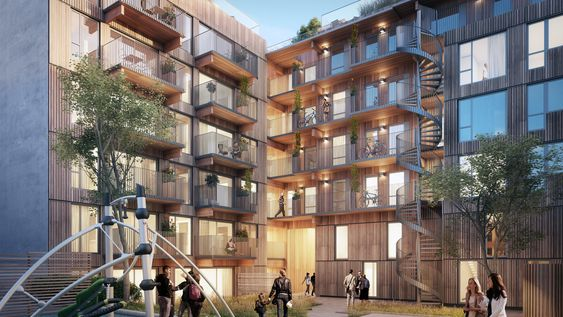 Grünerløkka skal gjøres grønnere, med et boligprosjekt for fremtiden. Et bærekraftig prosjekt med energiklasse A, geobrønner, grønt tak og massivtre.