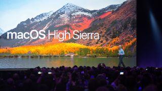Fra Apples introduksjon av MacOS High Sierra.