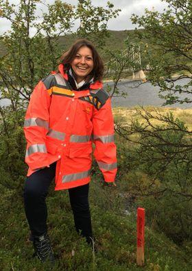 Arianna Minoretti jobber ved bruseksjonen i Statens vegvesen og leder mulighetsstudien for rørbru langs E39.