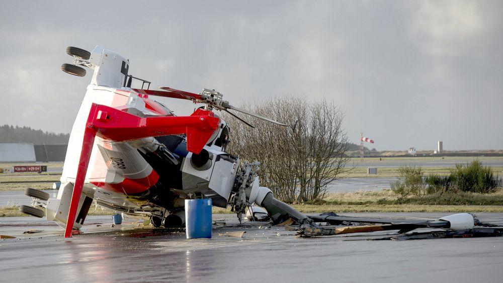 Helikopteret som veltet har halenummer 0268 og er det fjerde helikopteret som er produsert for Norge.
