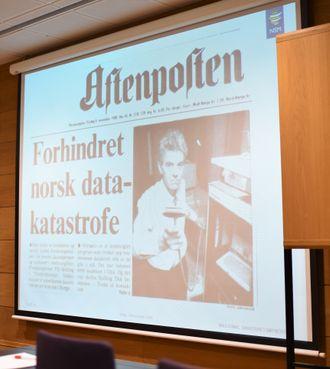 Aftenposten dekket saken. Foto: Christina Gulbrandsen