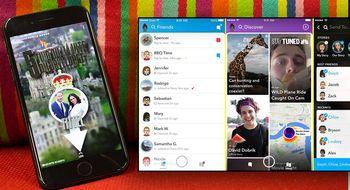 Tidenes oppdatering av Snapchat er her