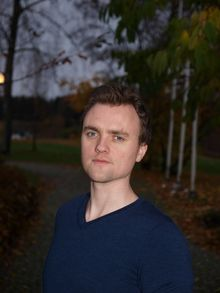 Leder i PF-studentene, Martin Danielsen.