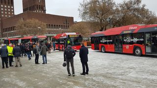 Holdt lovnaden om elbusser i Oslo med 11 timer