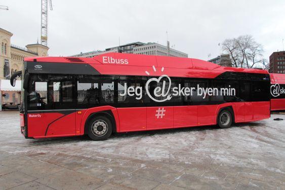 Elbuss: Denne bussen skal kjøre av Unibuss mellom Mortensrud og Vika på linje 74.