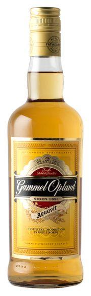 FAVORITTEN: Gammel Opland er fortsatt nordmenns akevitt-favoritt.