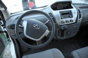 Dashbordet i Maxus EV80. Foto: Hans Kristian Barbøl