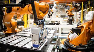 Roboter fra Raufoss bygger maritime batterier i Trondheim