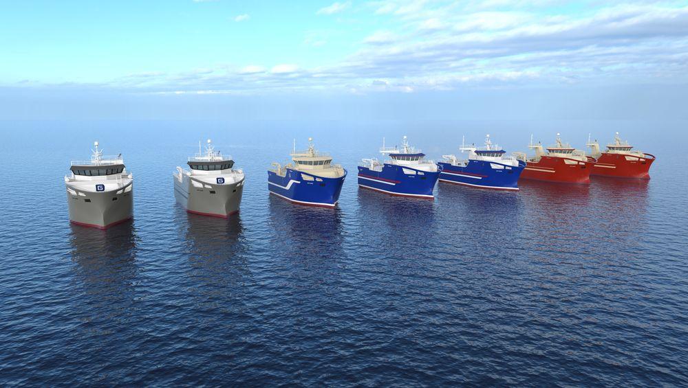 Fire islandske fiskebåtredere har gått sammen om å bestille til sammen syv hekktrålere fra Vard Aukra. Skipene blir 29 meter lange og 12 meter brede. Hver tråler utstyres med 240 m3 avkjølte tanker og skal ha fasiliteter og lugarer for et mannskap på 13.