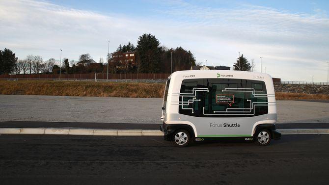 I neste fase skal bussen testes i trafikk. Da er det ikke bare teknologien som skal prøves ut, men også publikums reaksjoner.