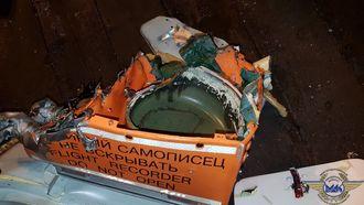 Ferdsskriveren (FDR) ble truffet av hovedrotoren og ødelagt i ulykken.