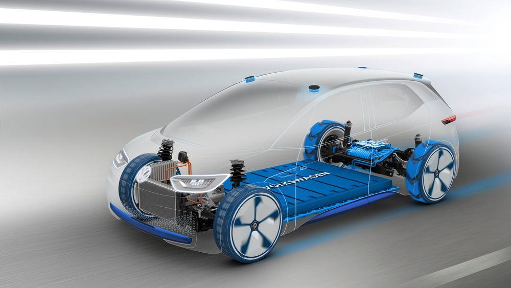 Volkswagen ID er den første av produsentens kommende elbiler som er utviklet som elbil fra bunnen.