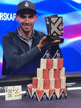 NORGESMESTER: Pokermannen Tim Klarpås fra Kolbotn.