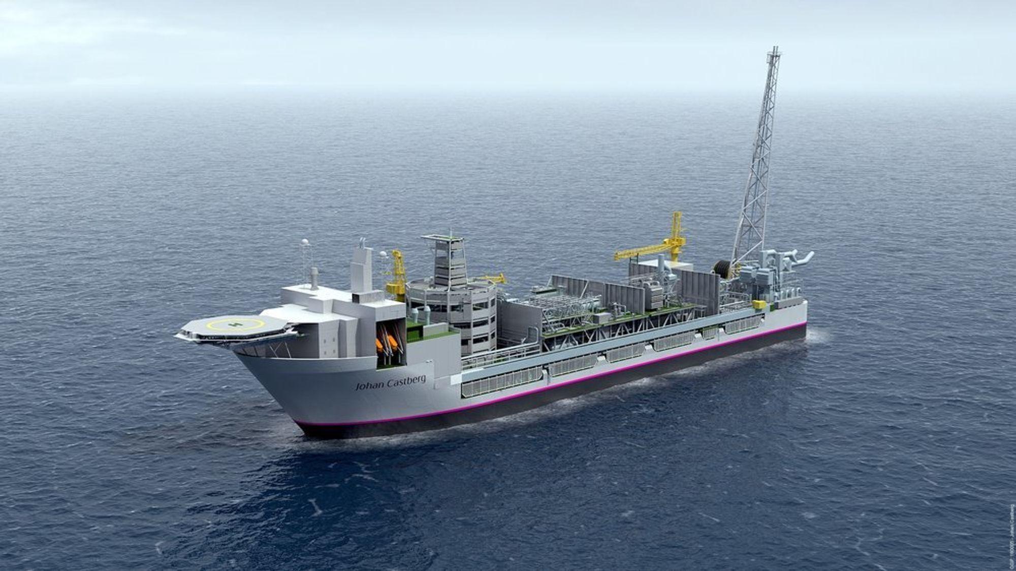 Kværner har fått i oppdrag fra Statoil å levere modulene til plattformdekket til det flytende produksjonsskipet. Kontrakten har en verdi på 3,8 milliarder kroner.