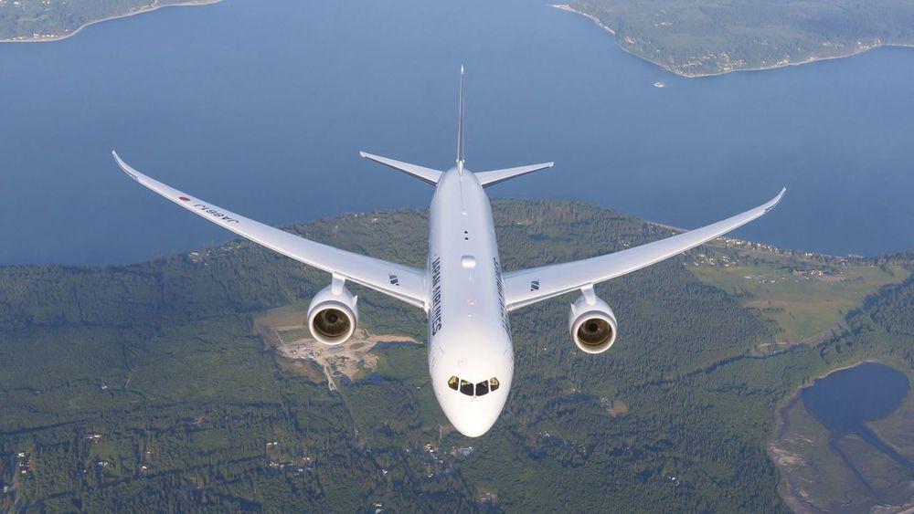Japan Airlines har i dag en flåte på 160 Boeing-fly, inkludert 787 Dreamliner (bildet). Dersom alt klaffer, blir skal selskapet supplere flåten med supersoniske passasjerfly om noen år.