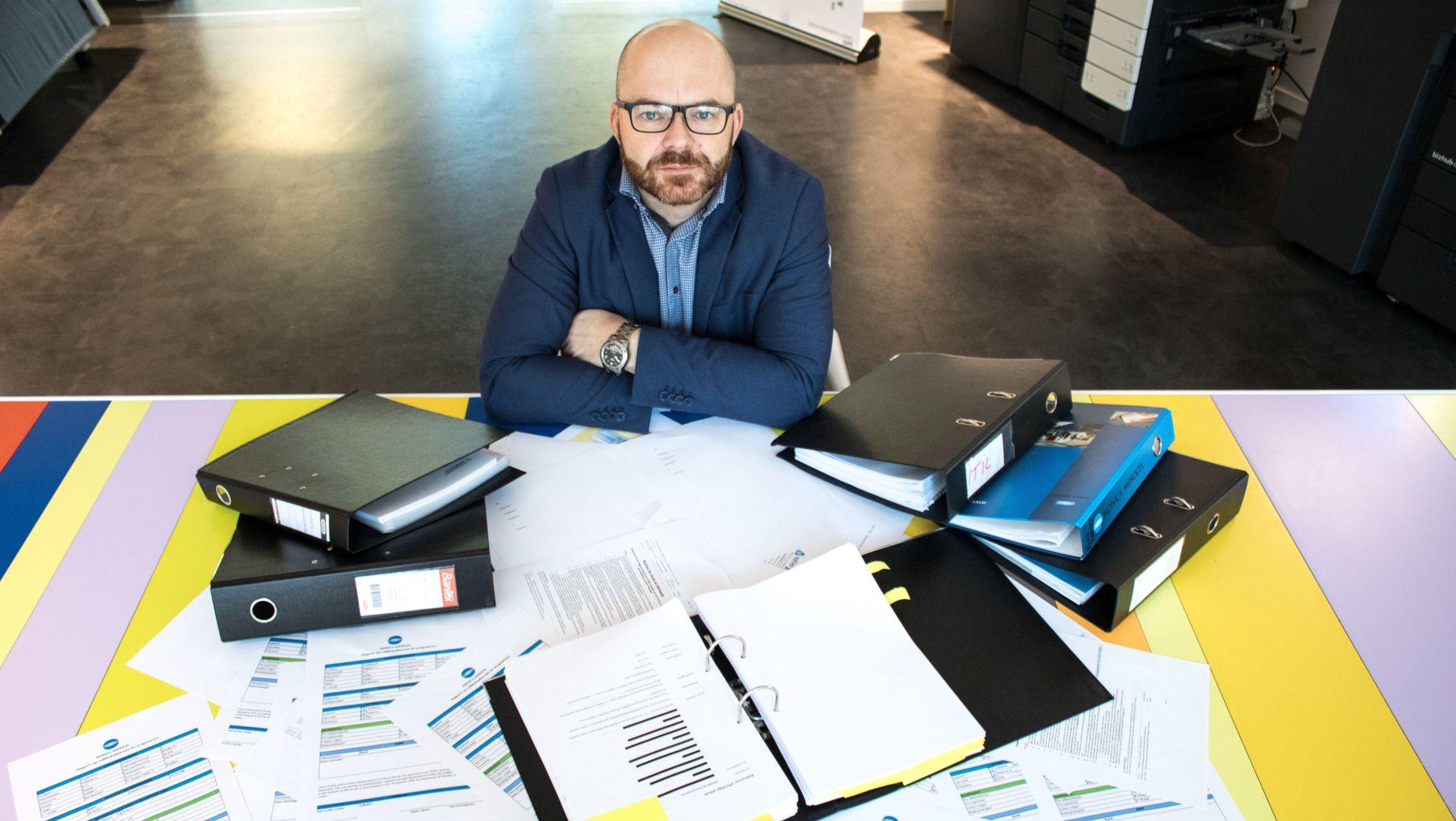 ITS direktør Thomas Grønli så seg lei av bedriftens kontraktskaos, løsningen ble en helt egen skytjeneste.