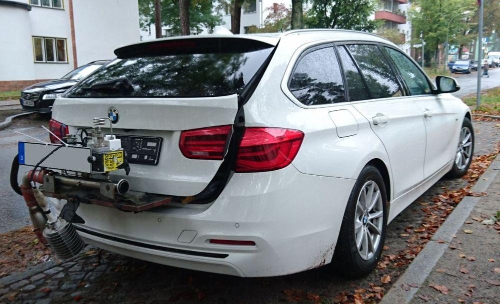 Den tyske miljøorganisasjonen DUH hevder å ha avslørt BMW i dieseljuks.