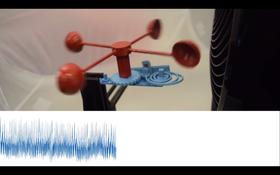 Forskerne brukte ideen til å blant annet lage en vindmåler som kan kommunisere informasjon om vindstyrke via WiFi.