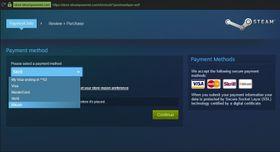 Betaling med Bitcoin går nå ikke lenger an hos Steam.